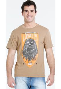Camiseta Masculina Manga Curta Star Wars Disney