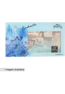 Porta Retrato Cinderela® - Azul Claro & Azul - Zona Zona Criativa