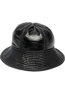 Rick Owens Drkshdw Chapéu Bucket Com Recortes - Preto