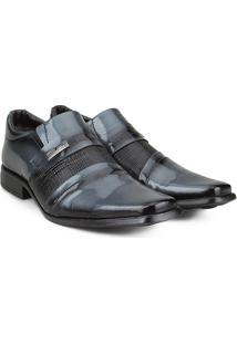 Sapato Social Walkabout Masculino - Masculino-Preto