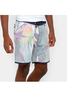 Bermuda D'Água Calvin Klein Geométrica Masculina - Masculino