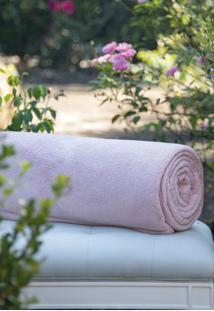 Cobertor Microfibra Rosa - Scavone