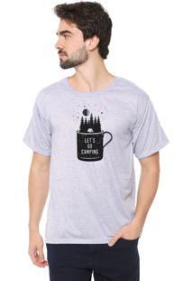 Camiseta Eco Canyon Let'S Go Cinza