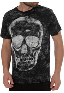 Camiseta Energy Masculina - Masculino-Preto