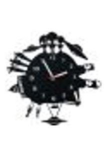 Relógio De Parede Decorativo - Modelo Ovni Conspiração 2