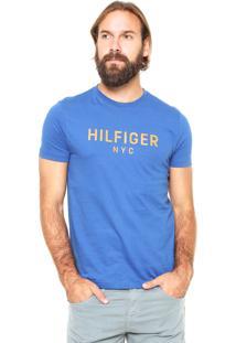 Camiseta Tommy Hilfiger Nyc Azul