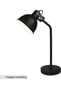 Luminária De Mesa- Preta- 26Xø16Cm- Bivolt- Premier