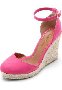Sandália Dafiti Shoes Espadrille Rosa