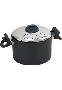 Caçarola Pasta Pronta Gli Speciali Alumínio Antiaderente 20 Cm Preta Ballarini