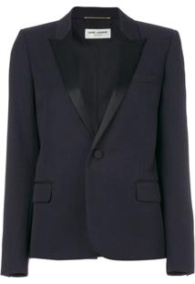 Saint Laurent Blazer Slim - Azul