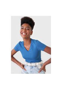 Blusa Malwee Lisa Azul
