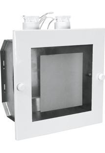Luminária De Embutir Taschibra Tr01 E27 Bivolt Branca