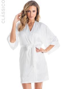 Robe Violeta Branco/G