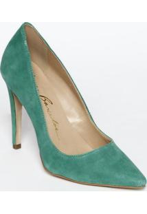 900d6180d4 Privalia. Scarpin Verde Com Salto ...