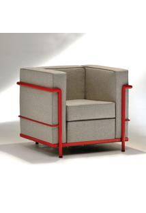 Poltrona Lc2 Studio Mais Design By Le Corbusier