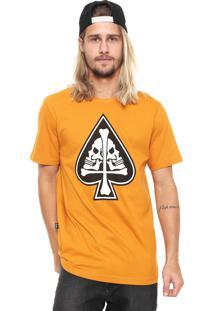 Camiseta Mcd Cross Caramelo