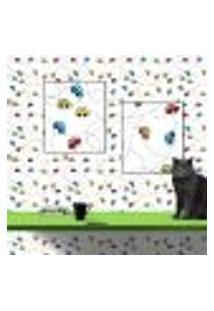 Papel De Parede Autocolante Rolo 0,58 X 3M Baby 109583555