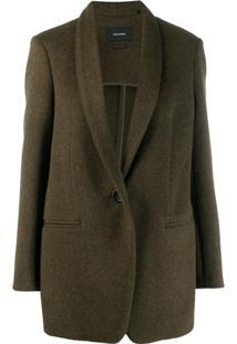 Isabel Marant Classic Tailored Blazer - Verde