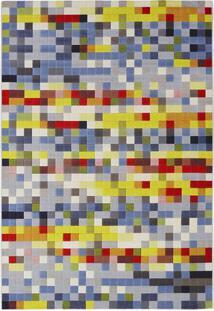 Tapete Pixel D- Azul & Amarelo- 290X200Cm- Tapettapete Sã£O Carlos