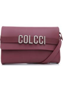 Bolsa Colcci Lettering Vinho
