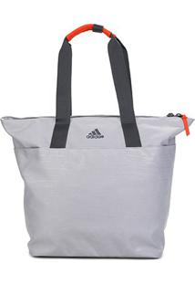 Bolsa Adidas Id Tote Feminina - Feminino-Cinza