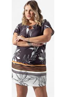 Vestido Feminino Plus Size Preto