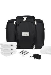 Bolsa Térmica Fitness Premium Couro - Unissex