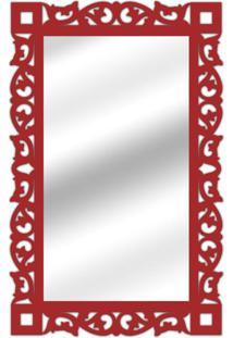 Espelho De Parede 14847V Preto 70X110 Art Shop