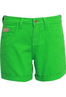 Bermuda Sarja Forum Reta Tint Verde
