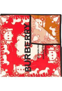 Burberry Echarpe Estampado - Neutro