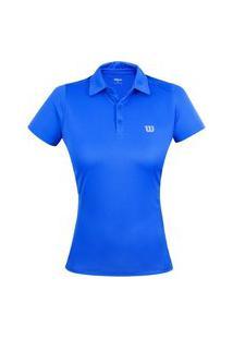 Camiseta Polo Wilson Core F Azul