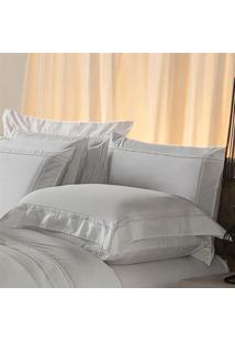 Fronha Avulsa Plumasul Premium Harmonious 230 Fios 50X90Cm Branca