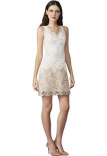 b279e2278e Vestido Bicolor Decote V feminino