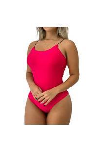 Body Regata Com Bojo Feminino De Suplex