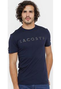 Camiseta Lacoste Print Masculina - Masculino
