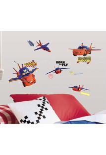 Adesivo De Parede Aviões Disney Room Mates