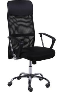 Cadeira Office Smart- Preta- 118,5X56X46Cm- Or Dor Design