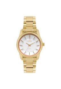 Relógio Condor Feminino Analógico Dourado Co2036Kwj4B