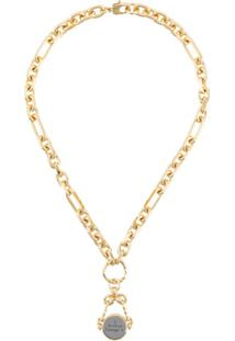 Givenchy Twisted Charm Necklace - Dourado