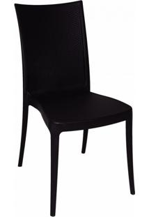 Cadeira Laura Ratan Preta Tramontina