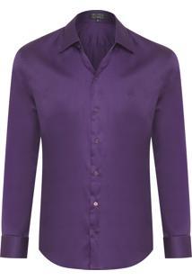 Camisa Masculina Nyl - Roxo