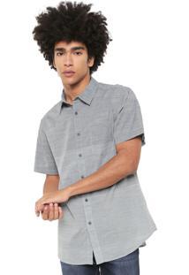 Camisa Billabong Reta Faderade Azul