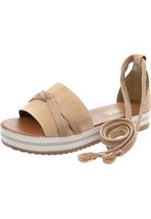Sandalia Mariha Calçados Chic Verão - Kanui