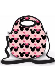 Bolsa Térmica Shop House Mikey Love Minie