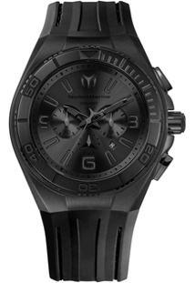 5b55a0f07e9 ... Relógio Cronógrafo Technomarine Wt30277G - Masculino-Preto+Azul Claro