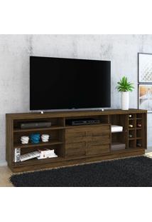 Rack Para Tv 1 Porta Carmem 502024 Savana - Madetec