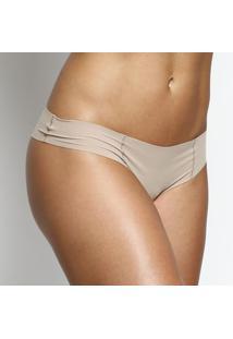Calcinha BiquãNi Com Recortes- Nude- Bonjourhope