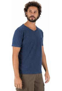 Camiseta Side Walk Camiseta Blaze Azul Marinho