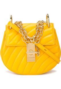dcdebc500 Chloé Bolsa Mini 'Drew Bijou' - Amarelo