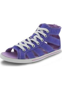 Tênis Feminino Ct As Gladiator Mid Converse All Star - 5370 Azul 33